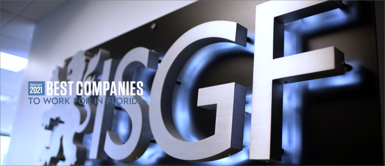 ISGF Named to Top 100 Best Companies List